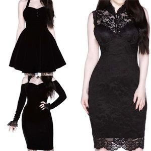Sold!  Bundle of all 3 Killstar holiday dresses!